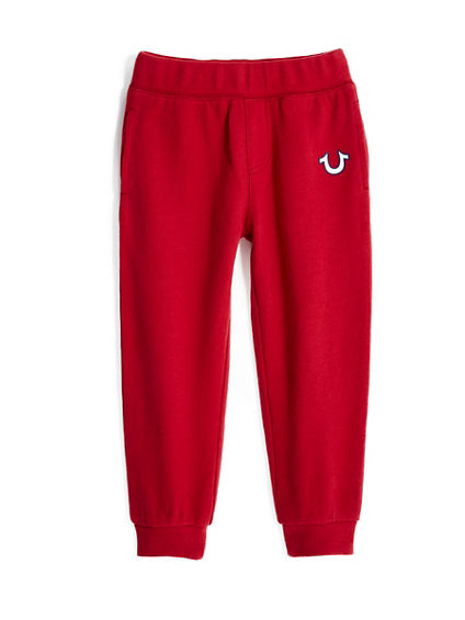 TODDLER/LITTLE KIDS PATCH SWEATPANT