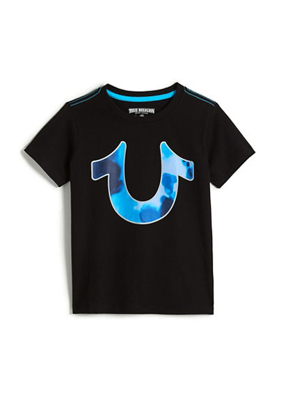 TODDLER/BOG KIDS TIE DYE HORSE SHOE TEE