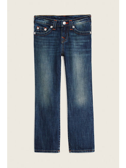 STRAIGHT FLAP KIDS JEANS
