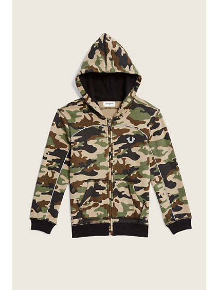 CAMO TERRY KIDS HOOK UP