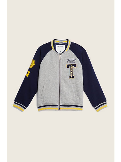 LETTERMAN KIDS JACKET