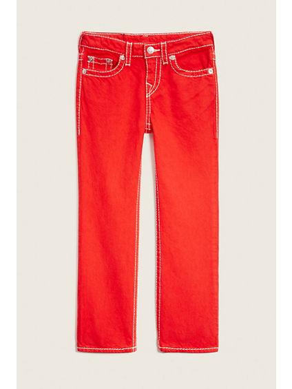 STRAIGHT  BIG T RED KIDS JEAN