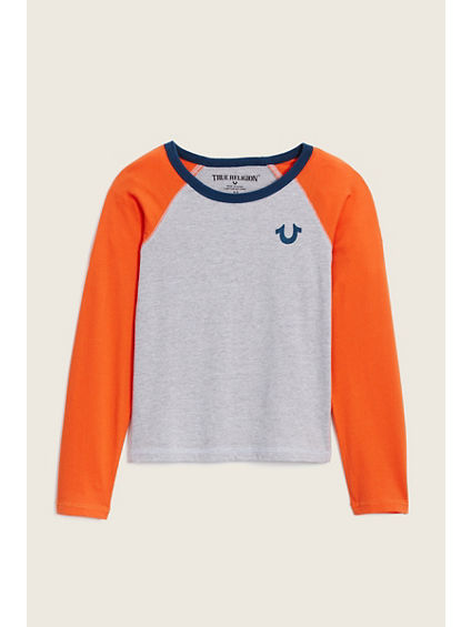 COLOR BLOCK KIDS RAGLAN