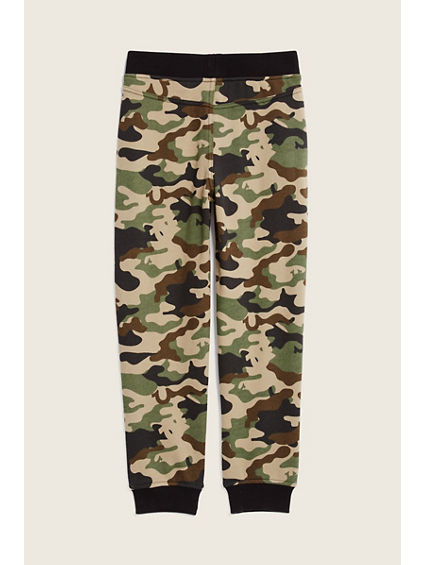 CAMO FRENCH TERRY KIDS PANT