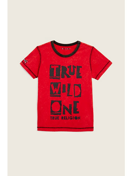 TR INSIDE OUT KIDS  TEE