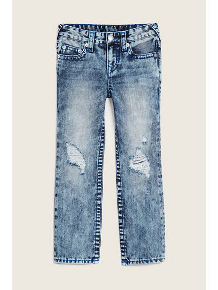 STRAIGHT FLAP DESTRUCT KIDS JEAN