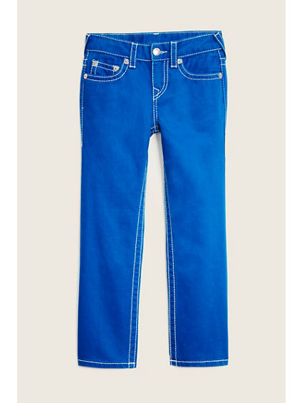 STRAIGHT FLAP BIG T BLUE KIDS JEAN
