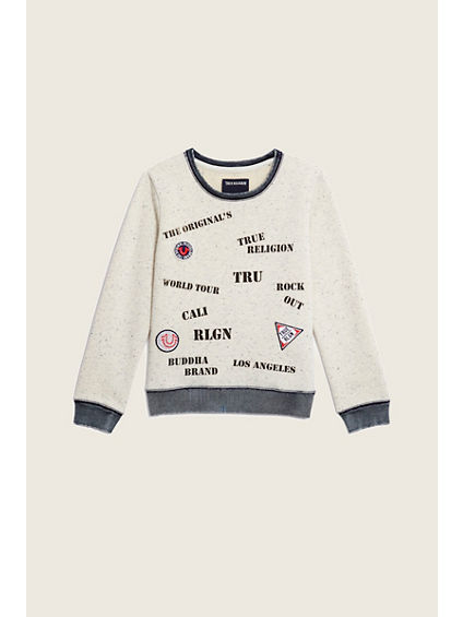 TR STAMP KIDS SWEATSHIRT