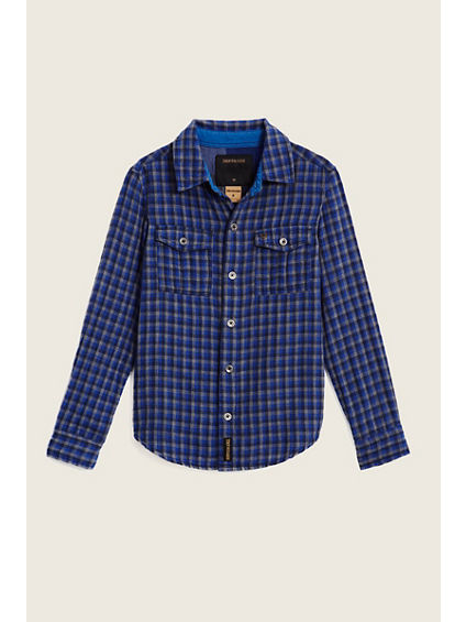 PLAID WORKWEAR KIDS SHIRT