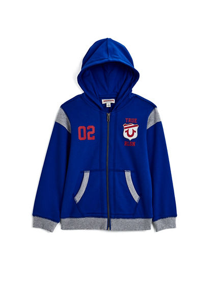 TODDLER/LITTLE KIDS VARSITY HOODIE