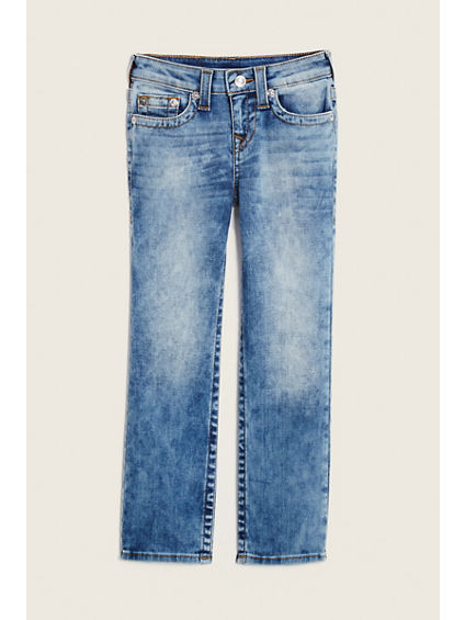 STRAIGHT SINGLE END KIDS JEAN