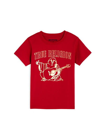 ROCK ROLL TODDLER/LITTLE KIDS TEE