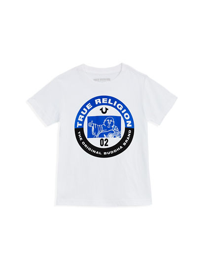 TODDLER/LITTLE KIDS BUDDHA CIRCLE TEE