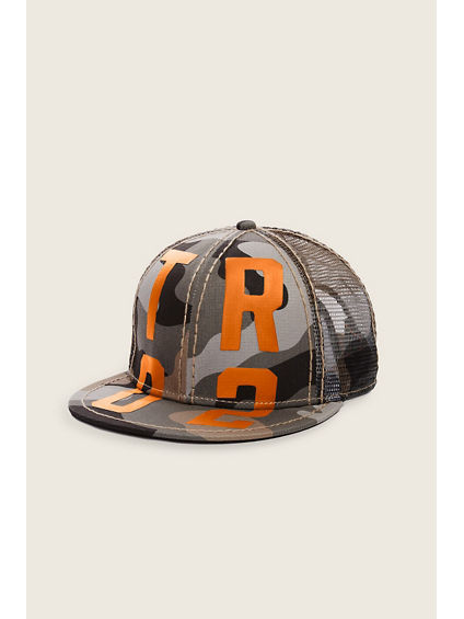 TR02 CAMO BASEBALL HAT