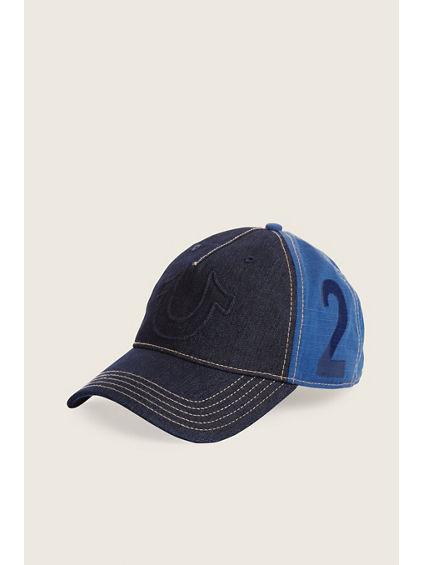 RAISED HORSESHOE BASEBALL CAP