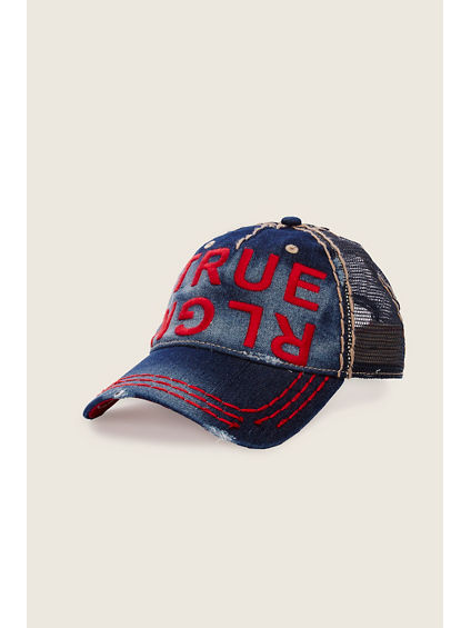 TR  DENIM BASEBALL CAP