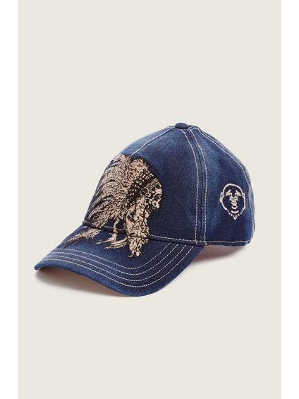 CHIEF SKULL BASEBALL CAP