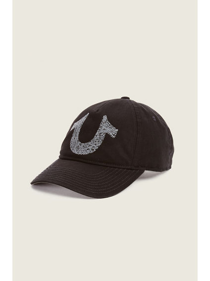 SHOE STRING LOGO BASEBALL HAT