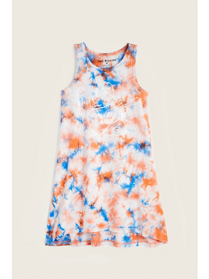 TIE DYE BUDDHA KIDS DRESS