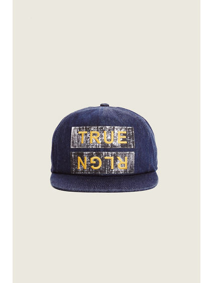 PAPER PATCH BASEBALL HAT