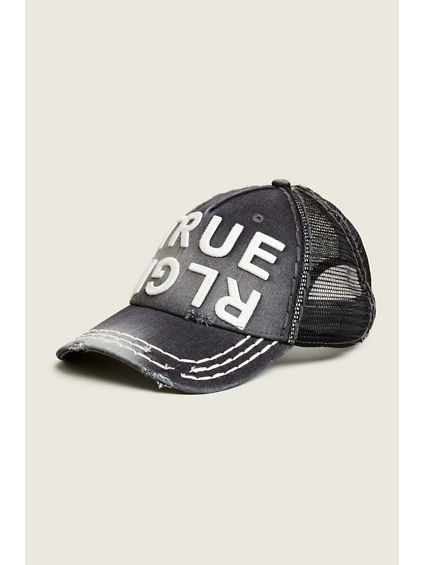 DENIM TRUE RLGN HAT