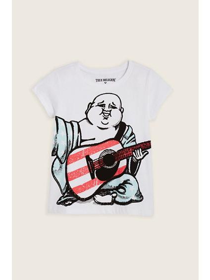 BUDDHA FLAG TODDLER/LITTLE KIDS TEE