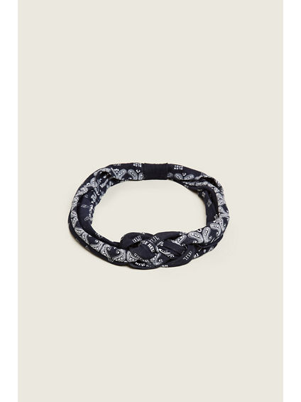BRAIDED BANDANA HEADBAND