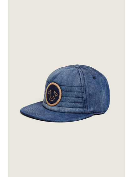 MOTO DENIM BASEBALL CAP