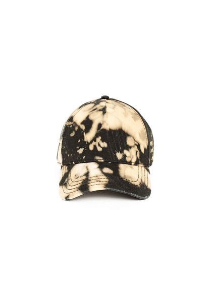 BLEACH DYE BASEBALL CAP