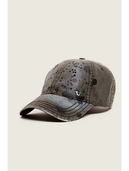 PAINT SPLATTER BASEBALL CAP