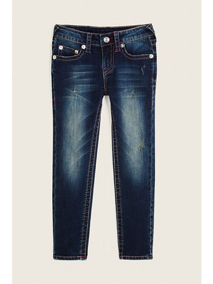 SKINNY SINGLE END KIDS JEAN