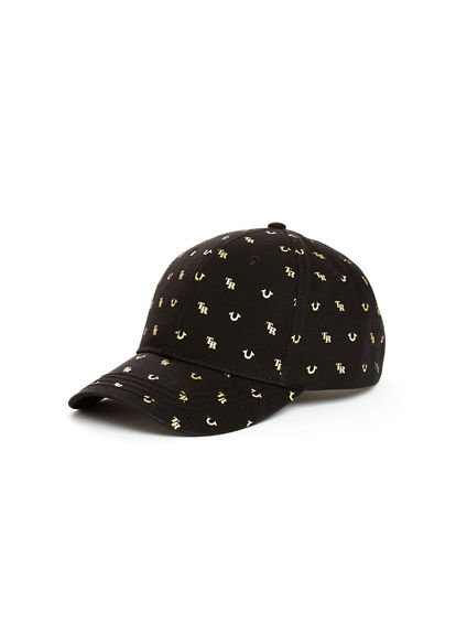 MENS MONOGRAM BASEBALL CAP