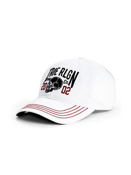 MENS SKULL BASEBALL CAP