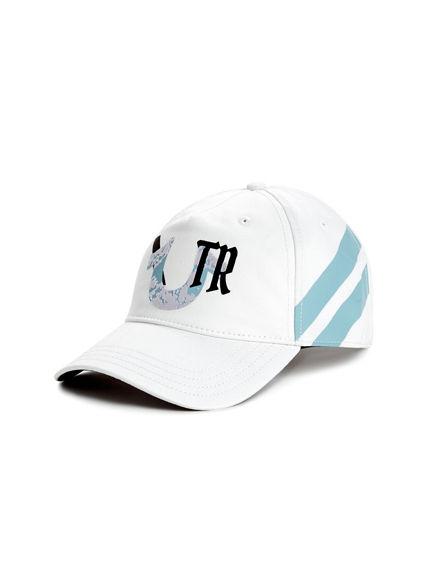 MARBLE LOGO BASEBALL CAP