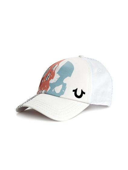 SKULL GRAPHIC TRUCKER HAT