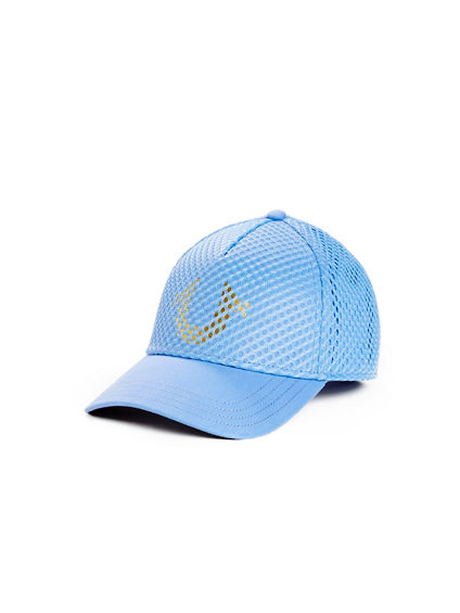MESH OVERLAY BASEBALL CAP