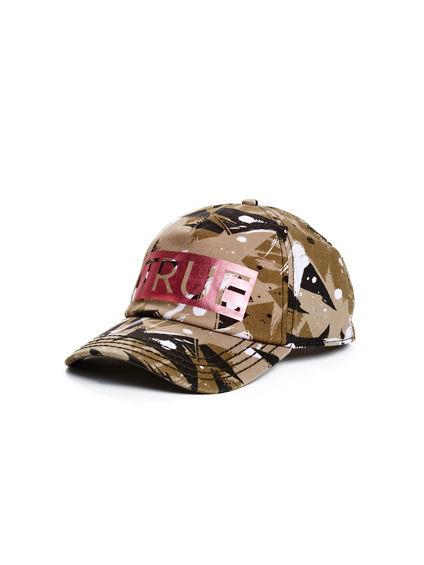 CAMO TRUE BASEBALL CAP