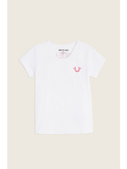 TODDLER/LITTLE KIDS LOGO TEE