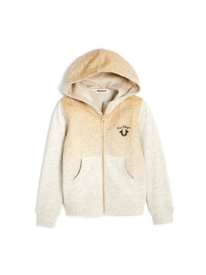 GOLD FOIL TODDLER/LITTLE KIDS HOODIE