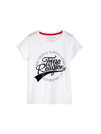 TODDLER/LITTLE KIDS TR BASEBALL TEE
