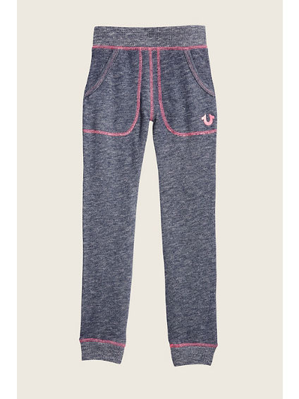SLUB TERRY TODDLER/LITTLE KIDS SWEATPANT