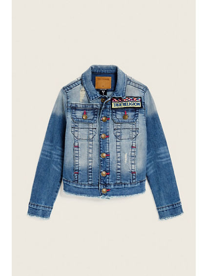 TODDLER/LITTLE KIDS EMILY DENIM JACKET