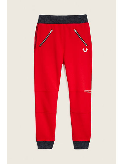 TODDLER/LITTLE KIDS MOTO SWEATPANT