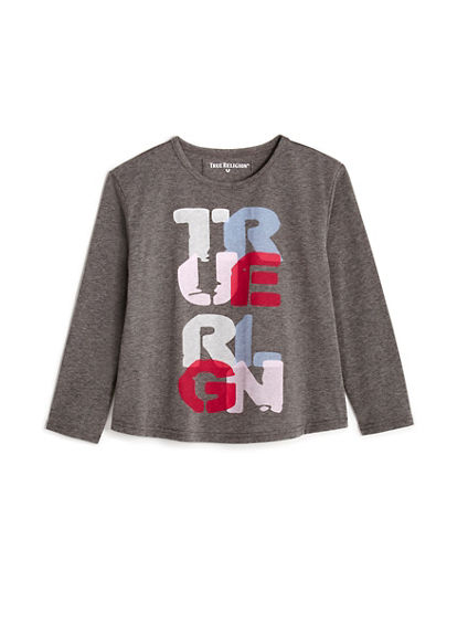 TODDLER/LITTLE KIDS GRAPHIC LONG SLEEVE SHIRT