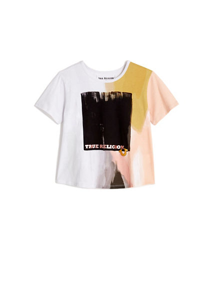 TODDLER/LITTLE KIDS WATERCOLOR GRAPHIC TEE