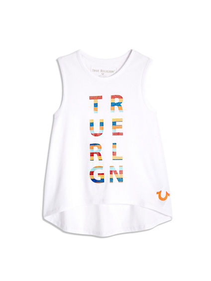 STRIPE LOGO TODDLER/LITTLE KIDS TANK