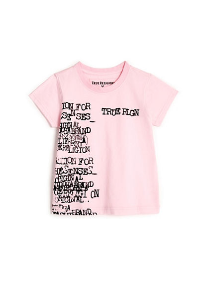 TYPEWRITER TODDLER/LITTLE KIDS TEE