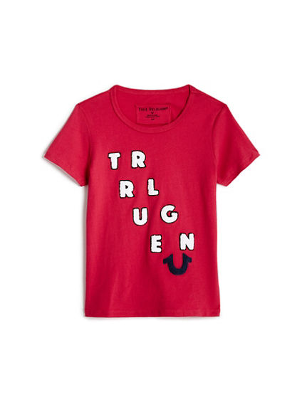 CHENILLE TODDLER/LITTLE KIDS TEE