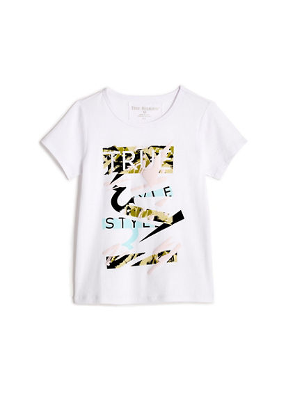 TODDLER/LITTLE KIDS CAMO GRAPHIC TEE