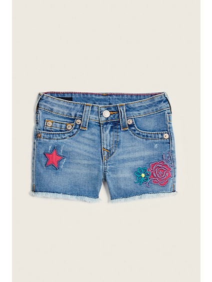PATCHED TODDLER/LITTLE KIDS SHORT